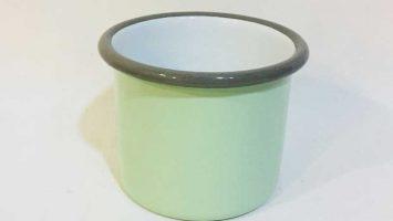 Emaye Patates Kupası Nil Yeşili