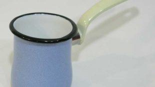 Emaye Cezve Granit Mavi 9 cm