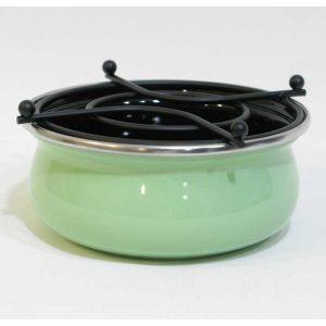 Emaye Isıtıcı Pastel Yeşil 13 cm